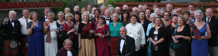 Group Photo at Clan Gathering Dinner 2014