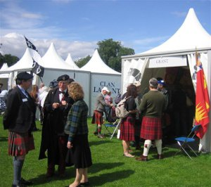 The Clan Grant Society Tent