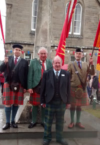 Grantown Mercat Cross 2015