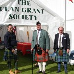 The Clan Grant tent